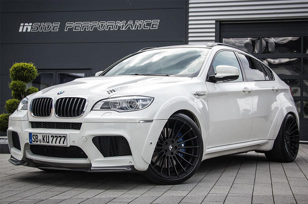 bmw x6m powerkit and body kit by inside performance. Black Bedroom Furniture Sets. Home Design Ideas