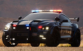 Barricade Ford Mustang Police Interceptor Introduced For Transformers 5 Photos