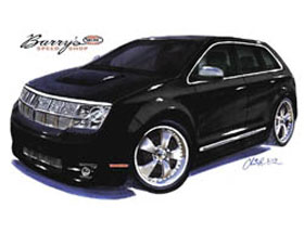 Barry Speed Shop Lincoln Mkx