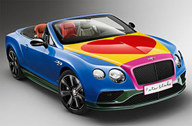 Bentley Continental GT Art Car by Sir Peter Blake Photos