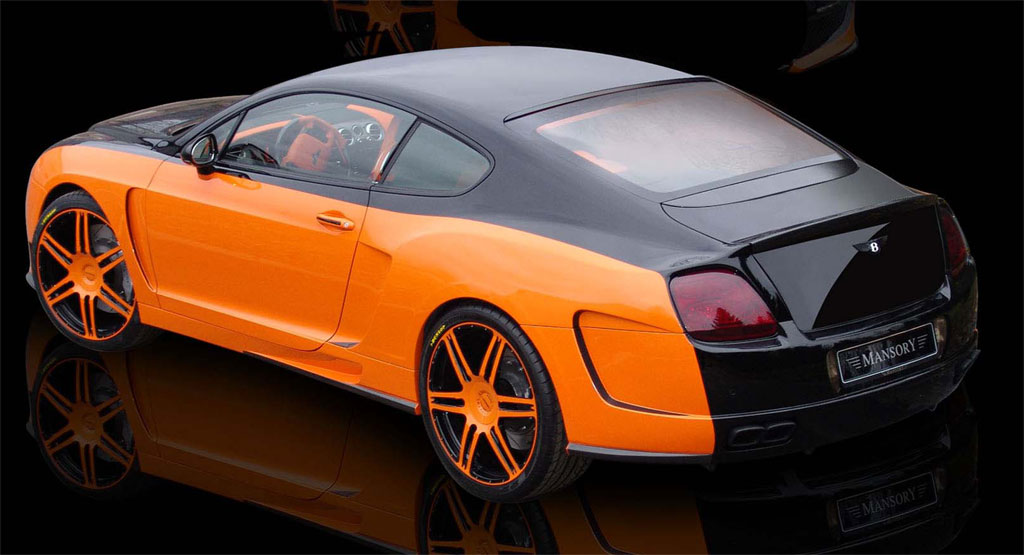 Le Mansory Bentley Continental Gt Photo 2 835