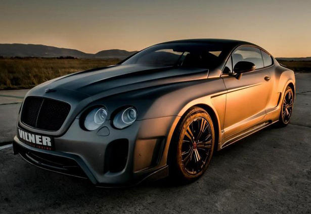 Bentley Flying Spur Modified >> Bentley Continental GT by Vilner