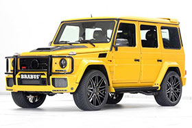 Brabus Builds 700 HP Mercedes G63 AMG Photos