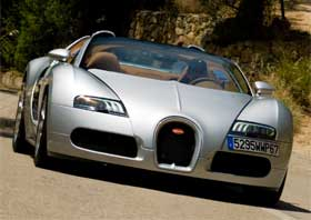 bugatti veyron grand sport jay leno review video. Black Bedroom Furniture Sets. Home Design Ideas