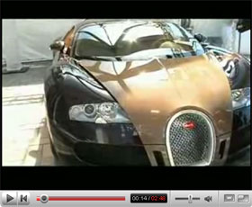 bugatti veyron hermes video. Black Bedroom Furniture Sets. Home Design Ideas