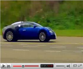 bugatti veyron race track test drive video. Black Bedroom Furniture Sets. Home Design Ideas