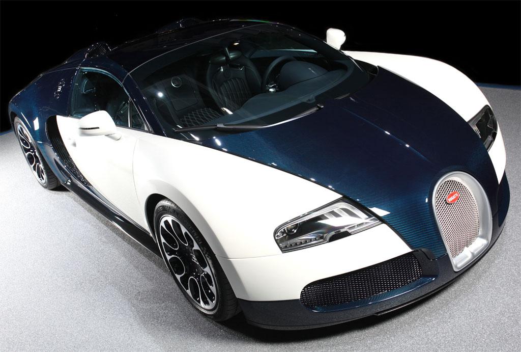 bugatti veyron grand sport blue carbon photo 5 7671