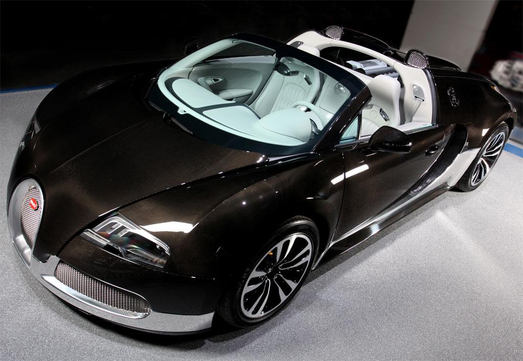 bugatti veyron grand sport grey carbon photo 12 7672