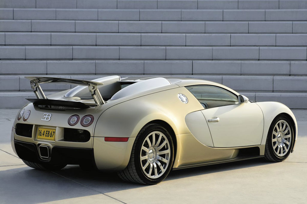 Gold Bugatti Veyron Photo 4 5637