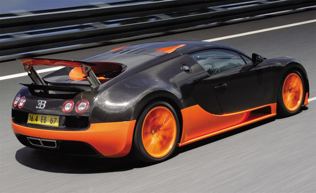 Bugatti Veyron Super Sport Top Speed Video