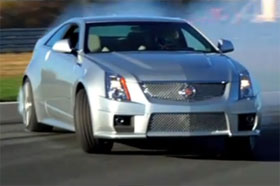cadillac cts v coupe drifting video. Black Bedroom Furniture Sets. Home Design Ideas