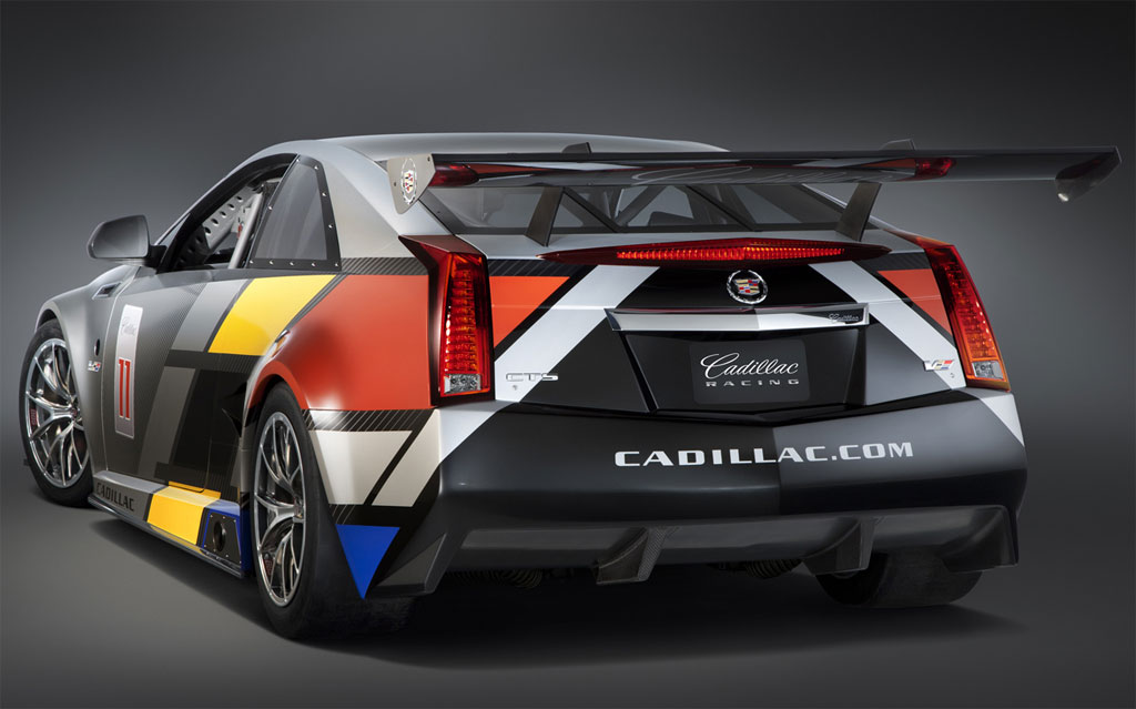 Cadillac Cts V Coupe Race Car 28