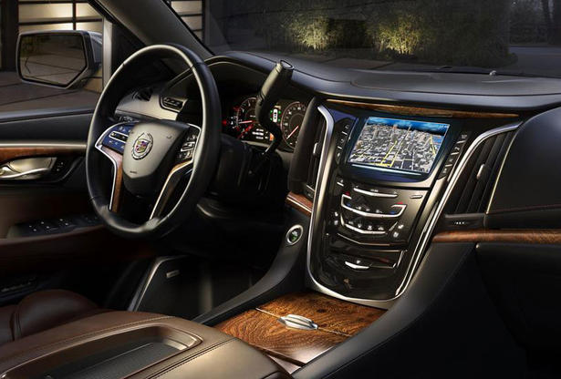 2015 cadillac escalade interior. Black Bedroom Furniture Sets. Home Design Ideas