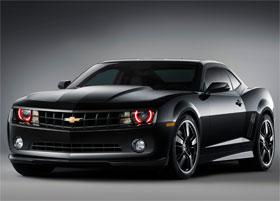 Chevrolet Camaro Black Design