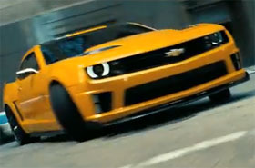 Chevrolet Camaro Transformers 3 Commercial