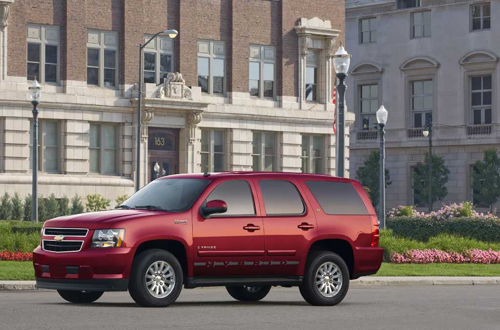 2008 chevrolet tahoe hybrid photo 3 1681. Black Bedroom Furniture Sets. Home Design Ideas