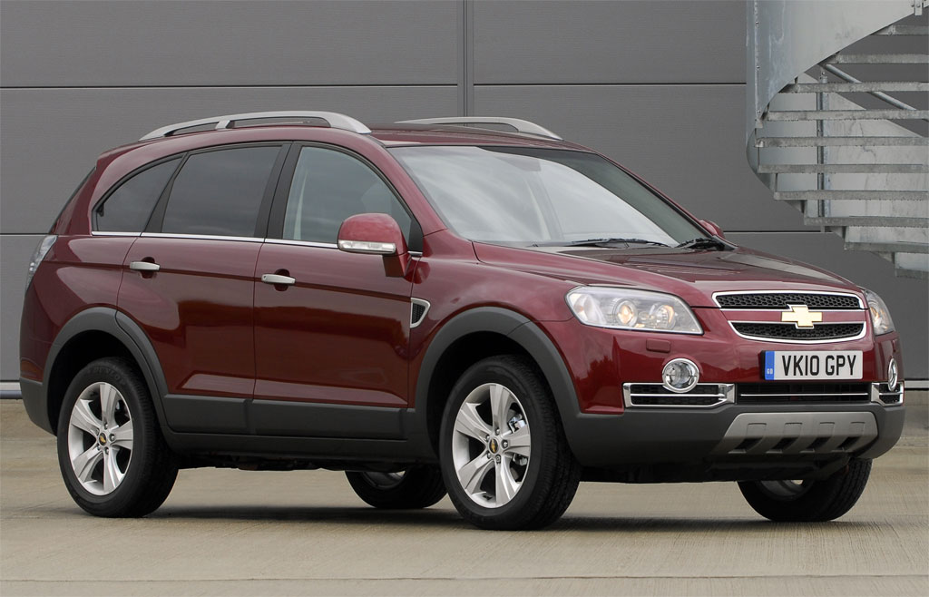 Chevrolet Captiva UK Photo 1 8136