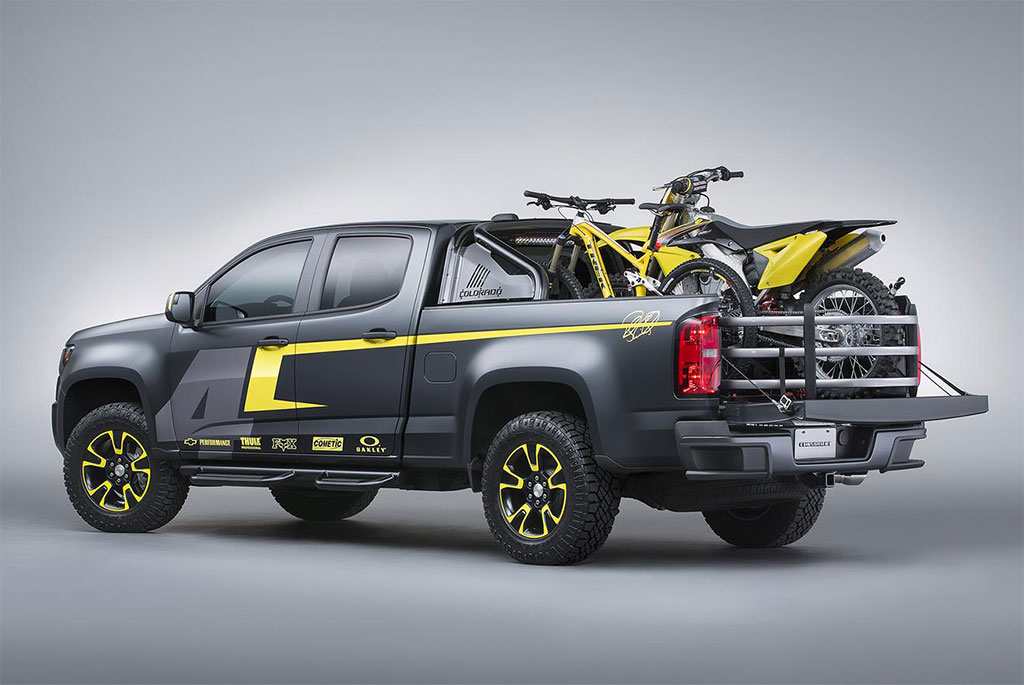 chevrolet colorado performance concept photo 5 14268. Cars Review. Best American Auto & Cars Review
