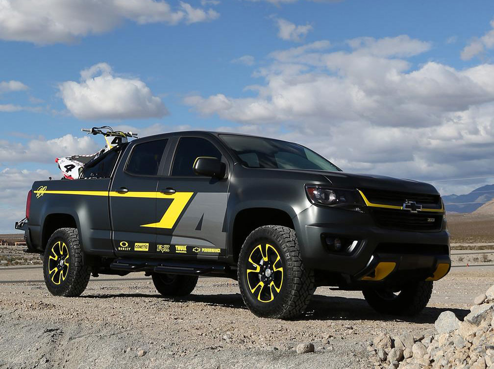 chevrolet colorado performance concept photo 7 14268. Cars Review. Best American Auto & Cars Review