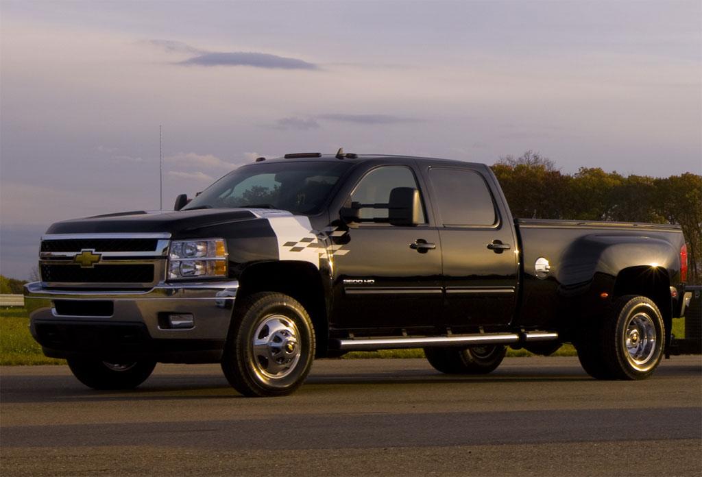 Chevrolet silverado 3500 hd race car hauler photo 1 9866