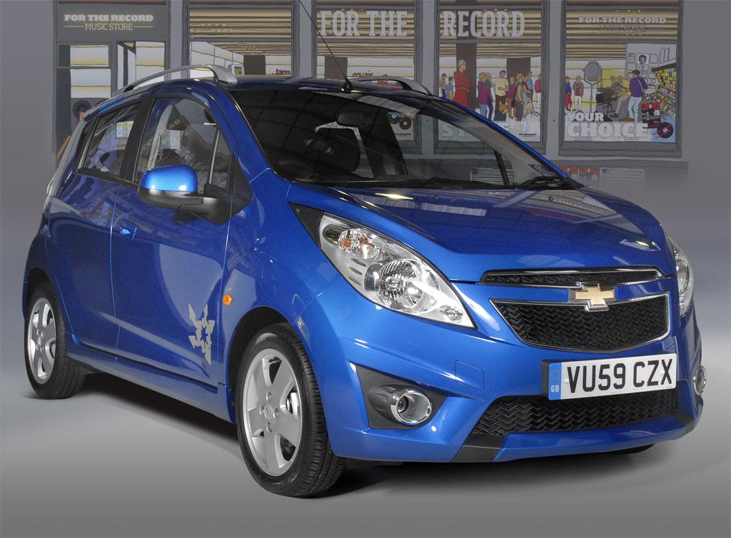 Chevrolet Spark Tags 3 Automobile cu motoare magnetice