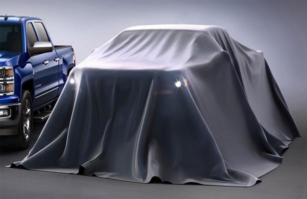 2014 Chevrolet Colorado Teased