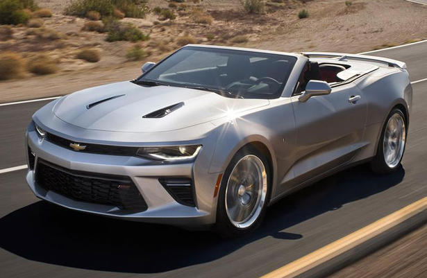 2016 Chevrolet Camaro Convertible Arrives Early Next Year