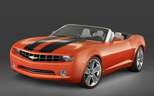 Chevrolet Camaro Convertible In Europe