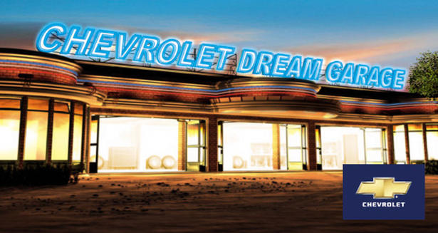 Win your chevrolet dream garage for Garage chevrolet luxembourg