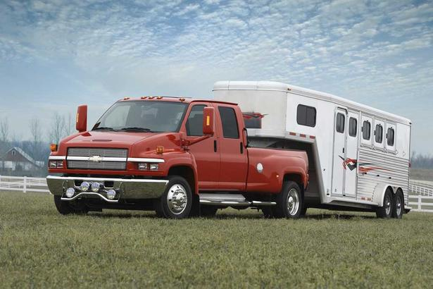 Chevrolet kodiak and gmc topkick production stop General motors medium duty trucks