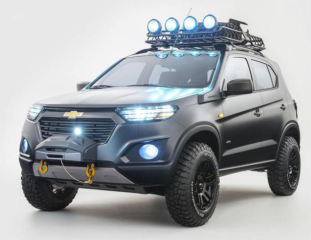Chevrolet Niva Concept Is One Bad 4x4