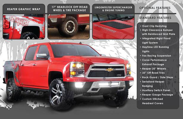 Chevy Reaper Price >> Chevrolet Silverado Reaper Announced