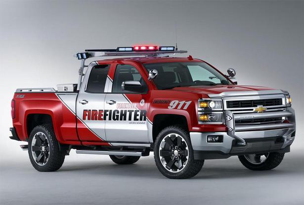 Chevrolet Silverado Black Ops and Volunteer Firefighter