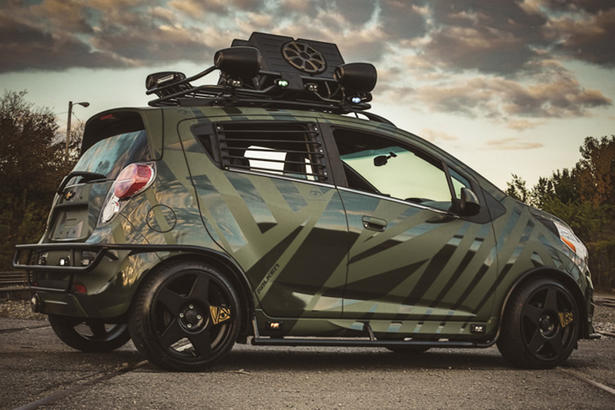 Chevrolet Spark By Enemy To Fashion