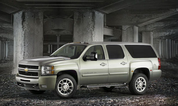 The Chevrolet Suburban HD Z71 Diesel powered by a 4.5 liter diesel