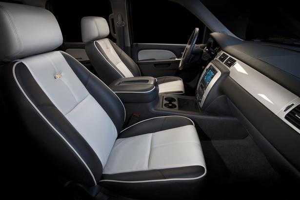 Chevrolet silverado at sema 2010 - 2011 chevy silverado interior parts ...