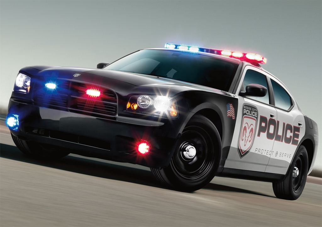 2009 Dodge Charger Police Car Photo 1 4441