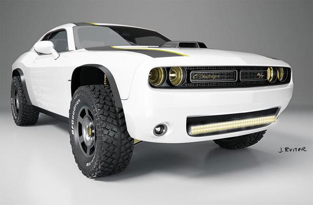 Dodge Challenger Untamed Off Road Package