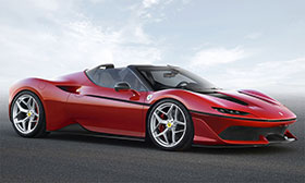 Ferrari J50 Based On 488 Spider Revealed Photos