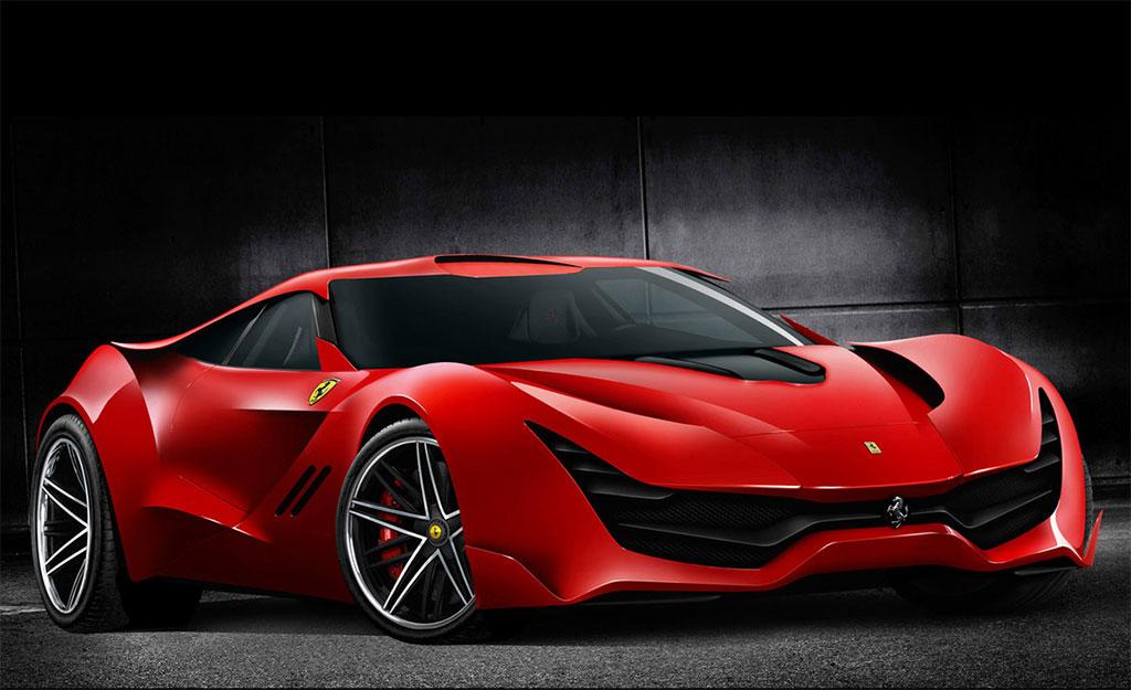 High Quality Ferrari CascoRosso Concept 1