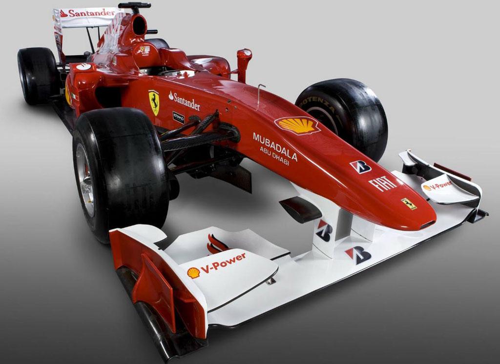 Ferrari F10 2010 F1 car Photo 2 7387