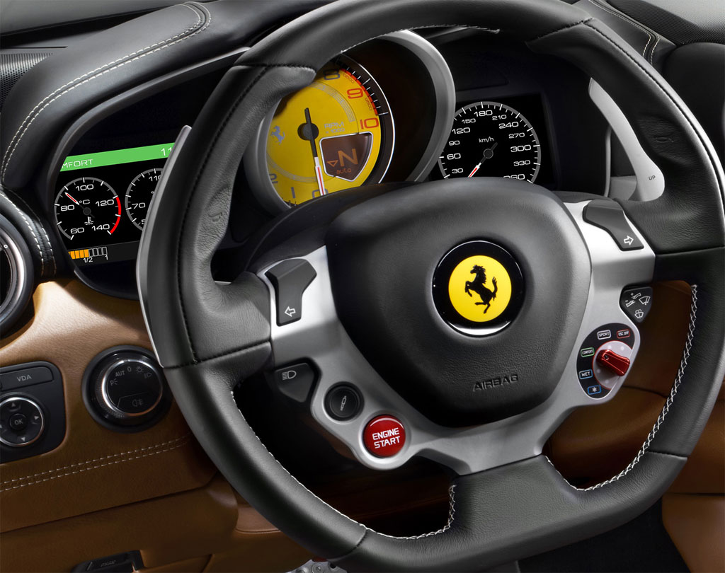 Ferrari FF Interior 1