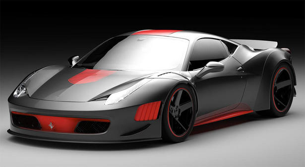 Gray Design Ferrari F458 Curseive