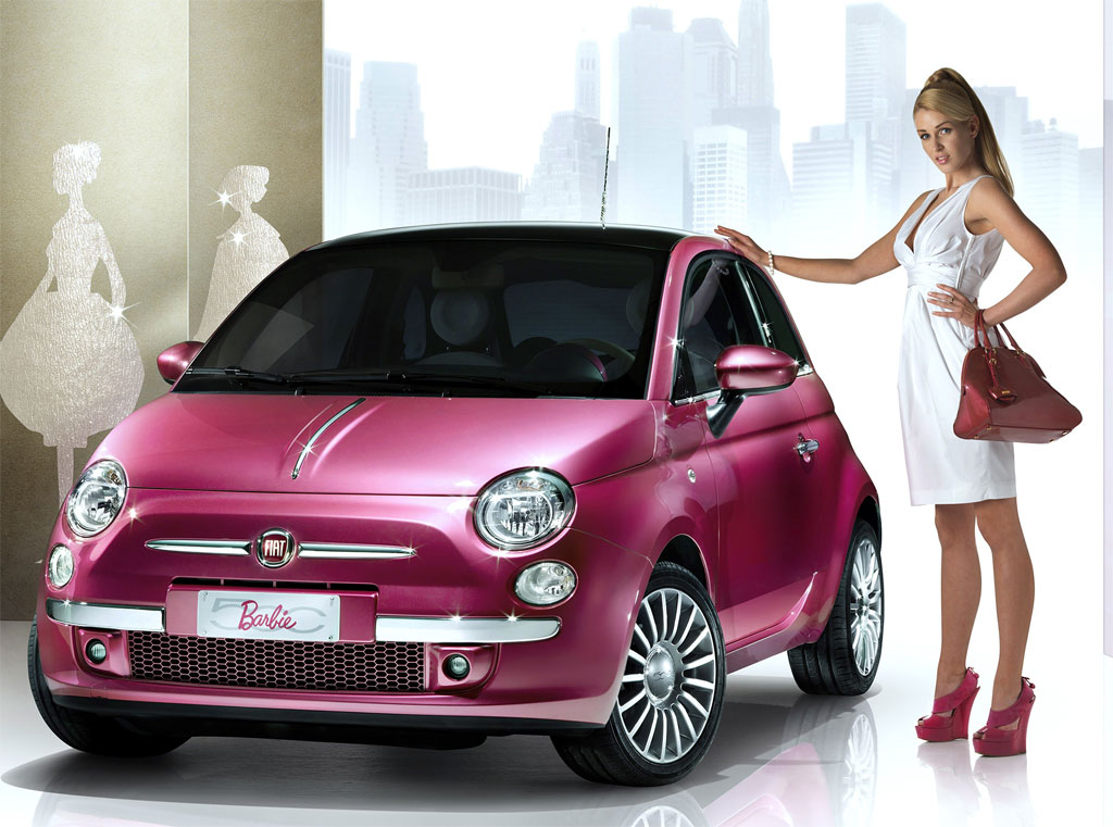 barbie fiat photo 500 5537. Black Bedroom Furniture Sets. Home Design Ideas