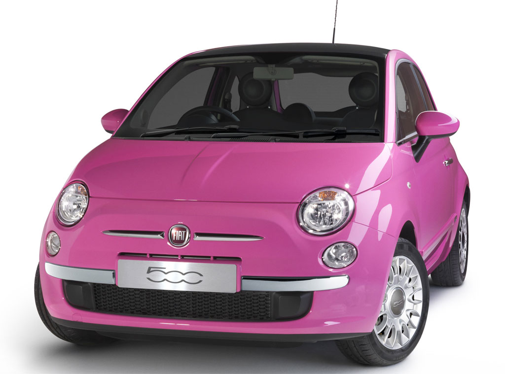 Fiat 500 Photo Pink 7317