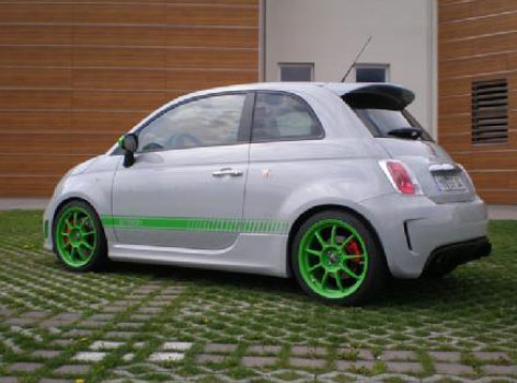 G Tech Abarth Fiat 500 RS S Photo 2 8804