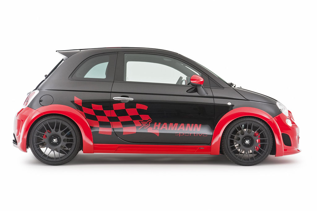 Car News Hamann Performance Kits For The Fiat 500 Abarth And Abarth