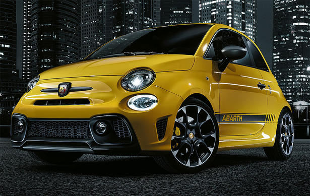 2017 Fiat 500 Abarth 595 Revealed