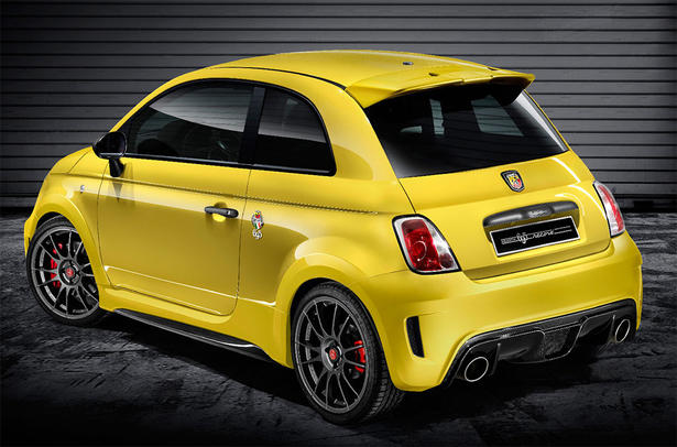 abarth 695 biposto record fiat 500. Black Bedroom Furniture Sets. Home Design Ideas
