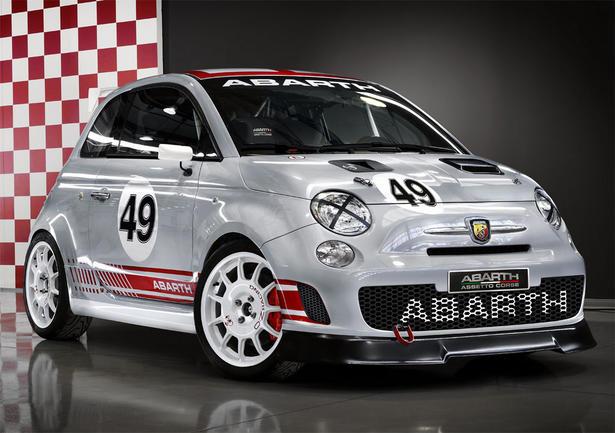 Abarth fiat 500 assetto corse at 2008 roc for Garage mercedes corse